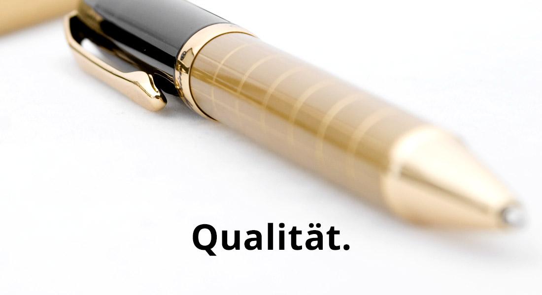 Qualität und Zuverlässigkeit